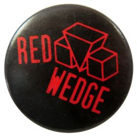 Red Wedge - 'Logo' Button Badge